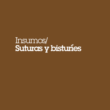 Suturas y bisturíes